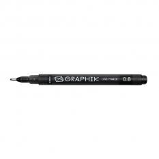 DERWENT GRAPHIK LINE MAKER BLACK 0.8 2302199