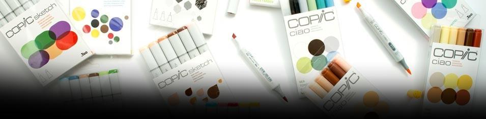Nowe Zestawy Copic Markers 6 -20%!