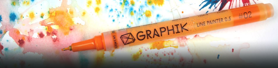 Pisaki Akrylowe Derwent Graphik Line Painter -20%