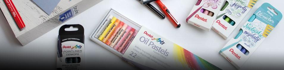 Do wybranych produktów Pentel Pastele Gratis!