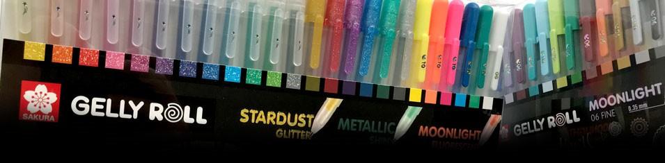 Długopisy żelowe Gelly Roll -10%