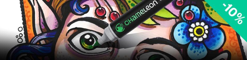 Markery Chameleon do płynnych przejść, cieniowań i gradacji -10%