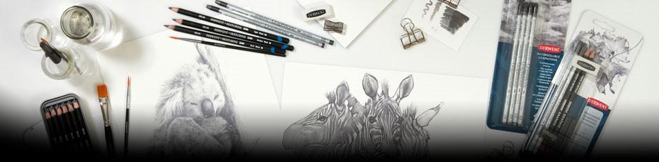 Ołówki Derwent na sztuki i zestawy -10%