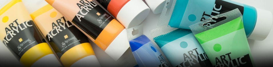Sprawdź soczyste kolory Schjerning Art Acrylic 75 ml!