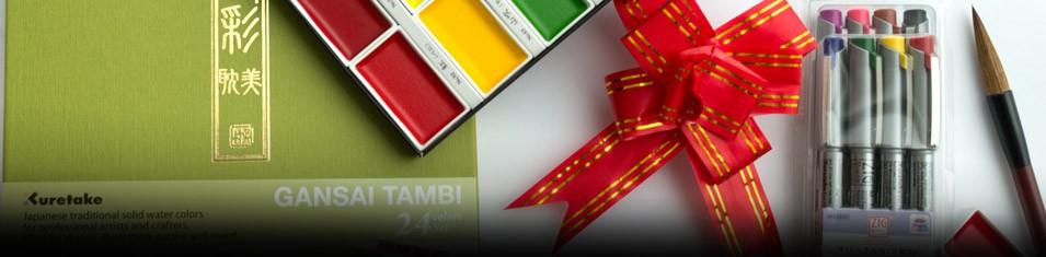 Do Zestawu 24 Gansai Tambi +8 Milenium Fineliners Gartis!